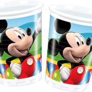 Mickey Egeres eldobható műanyag pohár 200 ml 10 db