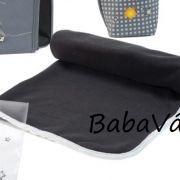 Babymoov polár babapléd fekete/szürke