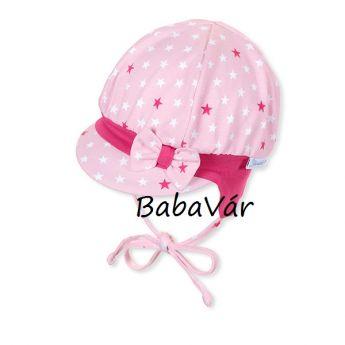 Sterntaler rózsaszín csillagos babasapi
