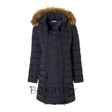 2Hearts 3 az 1-ben toll kismama kabát babahordozáshoz is