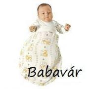 Babysafe rugizsák: szafari állatos