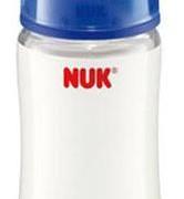 Nuk cumisüveg szilikon cumival: kék 300 ml