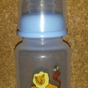 Bacino oroszlános cumisüveg szilikon cumival 125 ml: kék
