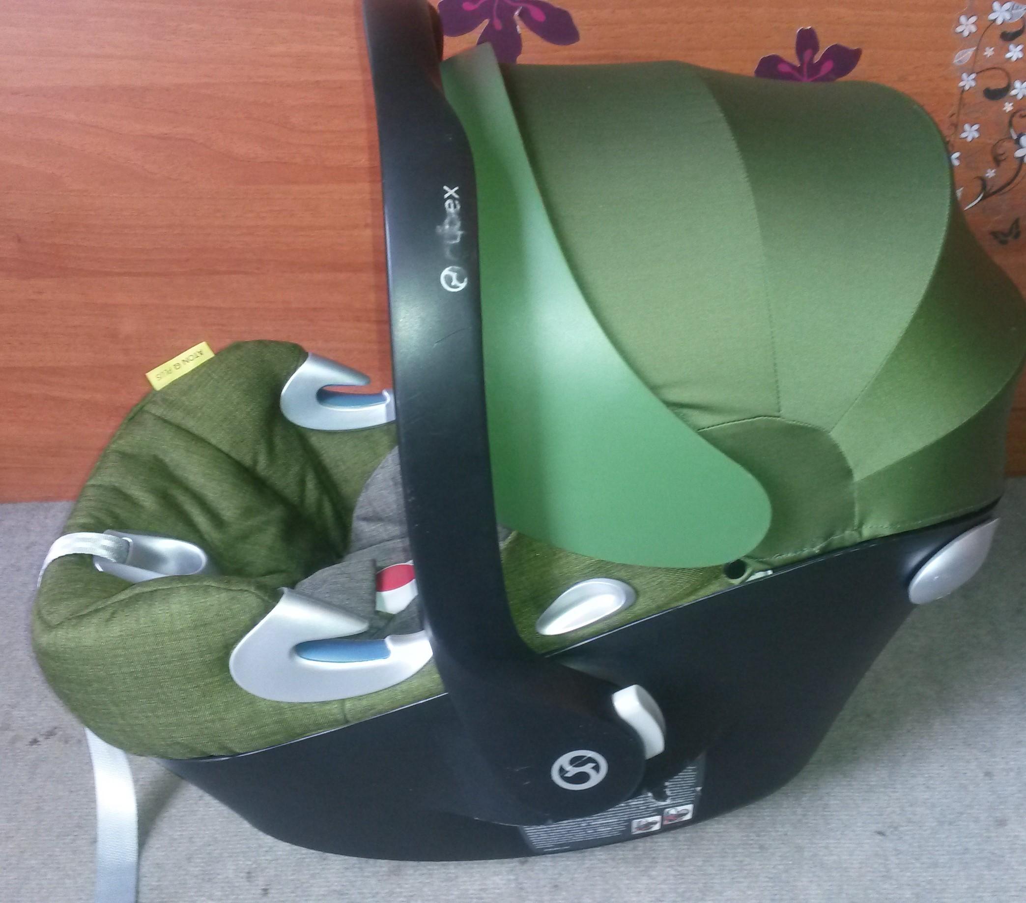 cybex aton q plus platinum cypress olive green babahordoz 0 13 kg. Black Bedroom Furniture Sets. Home Design Ideas