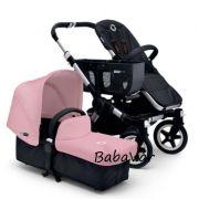 Bugaboo Donkey Babakocsi Mono kivitel Soft pink