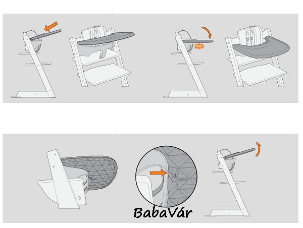 stokke tray tripp trapp etet sz khez t lca. Black Bedroom Furniture Sets. Home Design Ideas
