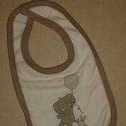 Bornino natur nyuszis pamut babaelőke/nyálzó