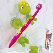 Tappancsosan rögzíthető fogkefetartós dinó