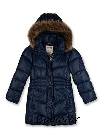 Sanetta hosszított kék kislány kabát  e281cf437f