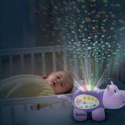 Vtech Lila Viziló zenélő baba projektor
