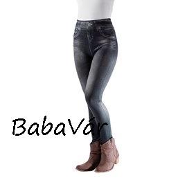 b413fcaceb Alakformáló Farmer hatású Legging-szürke | BabaMamaOutlet.hu