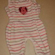 Kötött csíkos szoptatós kismama pulóver