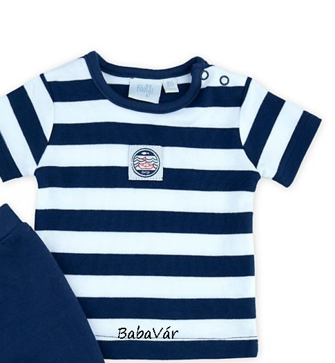 2e376addd3 Feetje kék/fehér csíkos baba póló | BabaMamaOutlet.hu