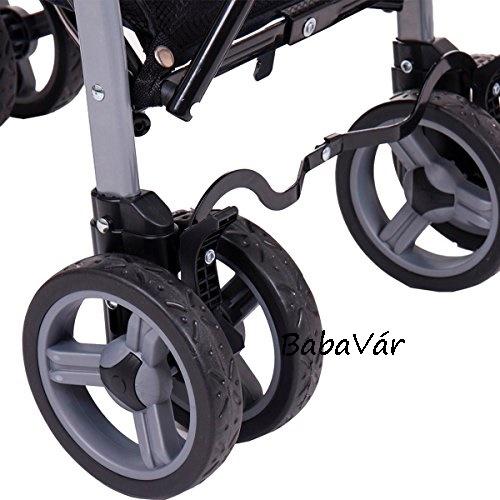 Babycab Max karfás Sportbabakocsi/ülőkocsi fekete