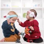 Alpine Muffy Baby Hallásvédő fültok csecsemőknek / Pink