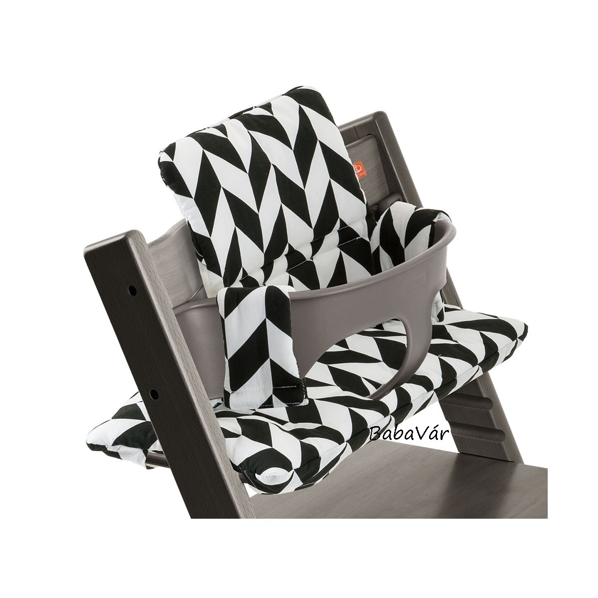 stokke etet sz kbe l kebet t tripp trapp cushion black. Black Bedroom Furniture Sets. Home Design Ideas