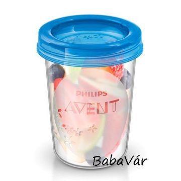 Philips Avent Via new tejtároló edény 180 ml 5 db