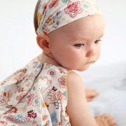 Vertbaudet virágmintás vékony kislány ruha