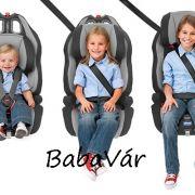 Chicco Gro Up silver 1-2-3 autós gyermekülés 9-36 kg