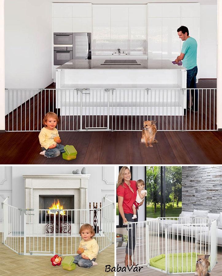 Hauck multifunkciós biztonsági rács Baby Park /babakarám