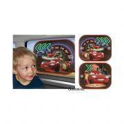 Verdás árnyékoló autóba szett 2 db Disney Cars2 Neon