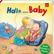 Kemény lapos könyv: Hello Kisbaba