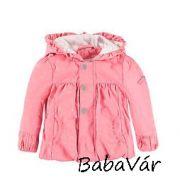Kanz rózsaszín kapucnis kislánykabát