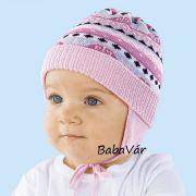 Maximo rózsaszín kötött babasapi