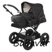 Babywelt Monn Air Black Többfunkciós babakocsi