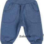 Joha kék pamut baba nadrág