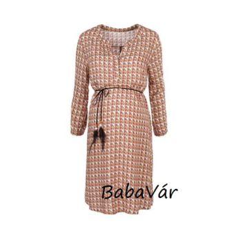 2Hearts nyári kismama szoptatós ruha Indian Summer