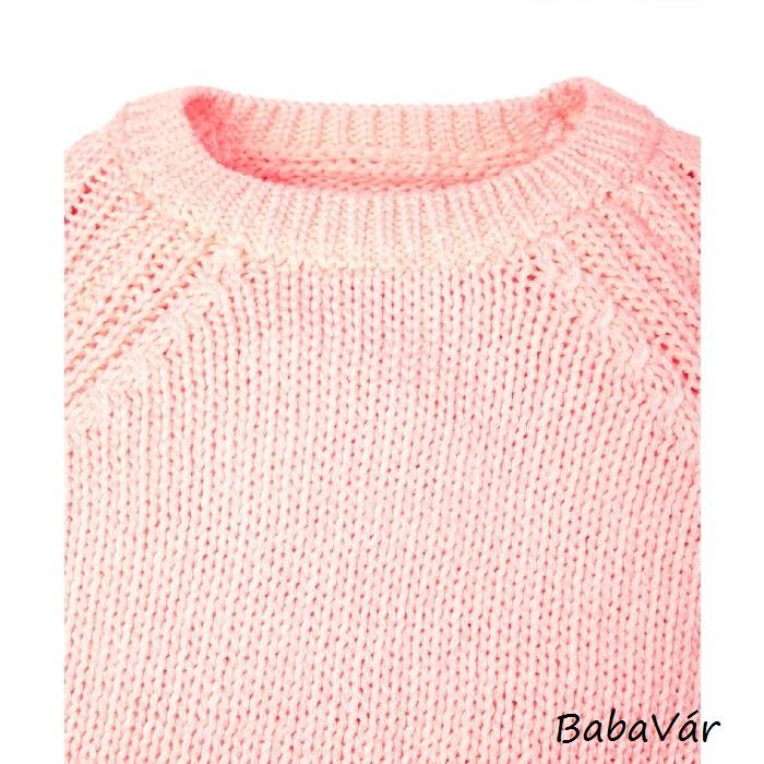 Mothercare barack színű kötött kislány pulóver  cb048eb670