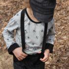 Jackenbutler fekete gyerek nadrágtartó