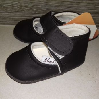 Jacob's barna baba bőr balerina cipő