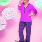 Anita 1237 569 Hot Pink szoptatós kismama pizsama