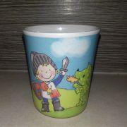 Vitézes melamine gyerek pohár