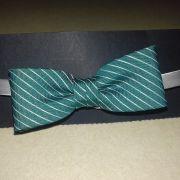 Der flotte boy gumipántos csokornyakkendő :zöld