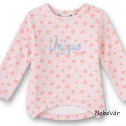 Eat Ants by Sanetta rózsaszín virágos baba pulóver