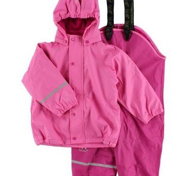 Celavi pink bélelt esőkabát