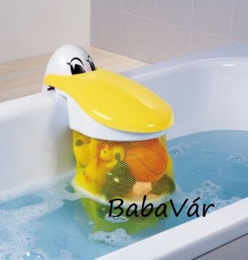Kid'sKit műanyag fürdőszobai játék tároló Pelikán