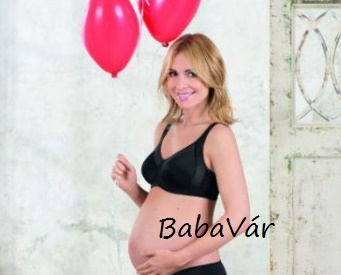 Anita 5169 Basic Terhességi Melltartó Fekete