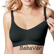 Bravado 1401 Signature Body Silk Seamless szivacsos szoptatós melltartó  Black Noir