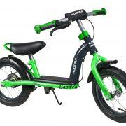HUDORA futóbicikli 12 zöld fekete