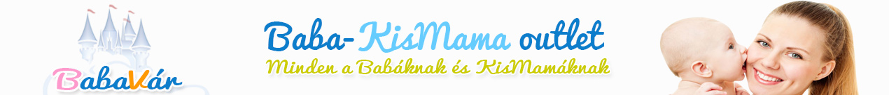 BabaVár - Baba + KisMama outlet webáruház