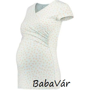 Bellybutton rövid ujjú kismama szoptatós póló  6817478eaf