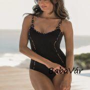 Fashy Fekete /színes Egyrészes melltartóbetétes alakformáló Női Fürdőruha