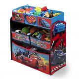 Delta Children Cars  textil dobozos játéktárolós álló polc
