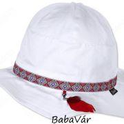 Sterntaler fehér UV szűrős kislány kalap