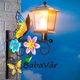 Solár pillangó lámpás