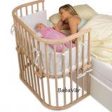 BabyBay Co-Sleeper Boxspring natur babaöböl / bölcsö
